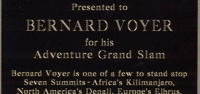 Honoré par son héros - Sir Edmund Hillary